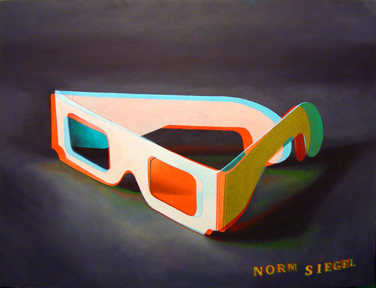 "Norm Siegel: ""Takes One To See One in 3D"""