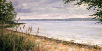 Steve Pica Long Island Sound Painting