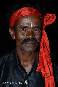 "Gillian Marshall ""Hindu gentleman, the Sunderbans, India"" Photograph"
